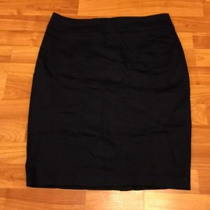 Blue pencil skirt size 14 H&M